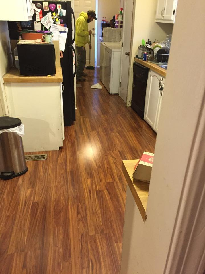 J.L. Warner Mobile Repair installed this new Pergo Floor