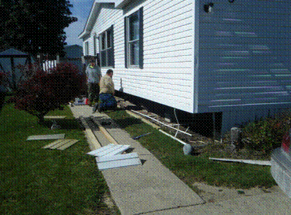 Mobile and Manufactured Home repairs and refurbishment