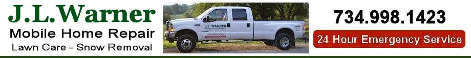 J L Warner Mobile Home Repair - Join our team contact form