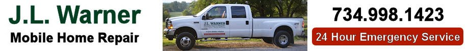J L Warner Mobile Home Repair Lawn Care and Snow Removal