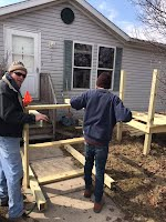 deck building, porches, stairs, steps, mobile home repair