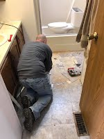 mobile home repair, flood damage repair, water damage repair, new floor, fix floor, floor installation