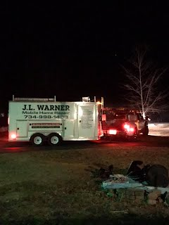J L Warner Mobile Home Repair goes to Houghton Lake MI to help when others won't